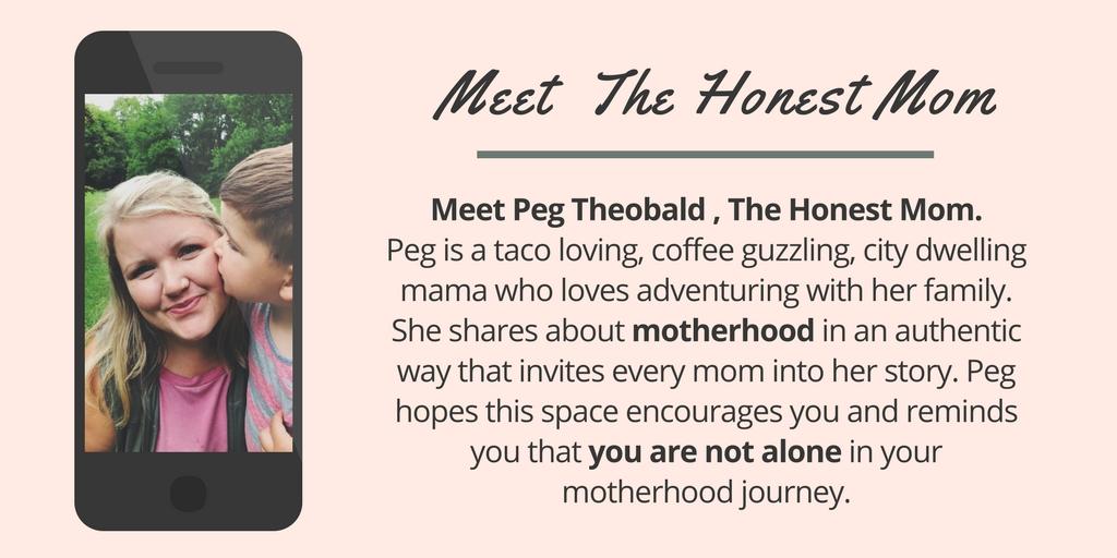 meet the honest mom header image