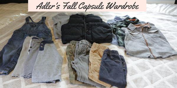 Adler's Fall Capsule Wardrobe