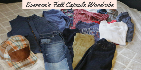 Everson's Fall Capsule Wardrobe