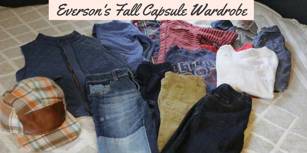 Everson's Fall Capsule Wardrobe