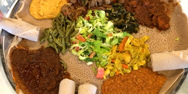 ethiopian food - menu planning