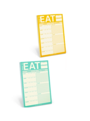 meal planning pad