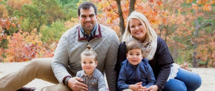 family photo header