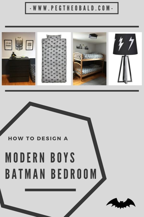 batman bedroom pinterest