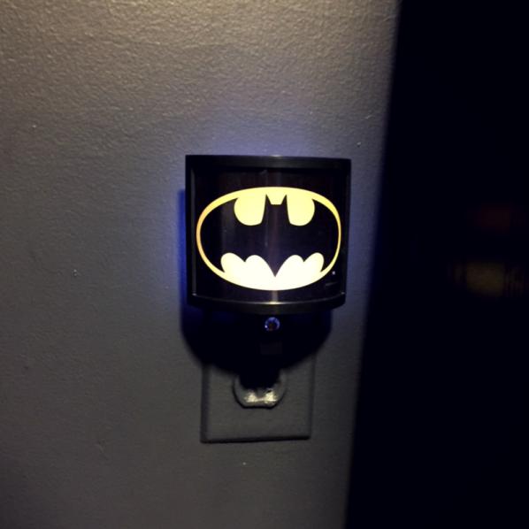 batman nightlight