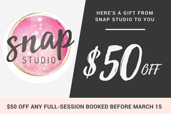 snap studio coupon