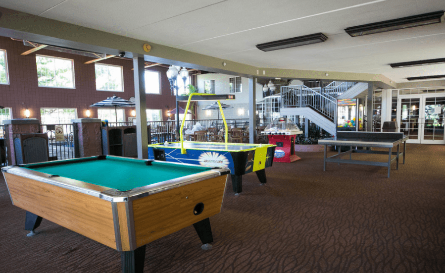 hampton holland rec game room