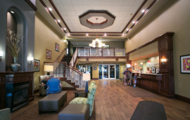 hampton holland hotel lobby