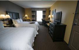 hampton holland hotel room