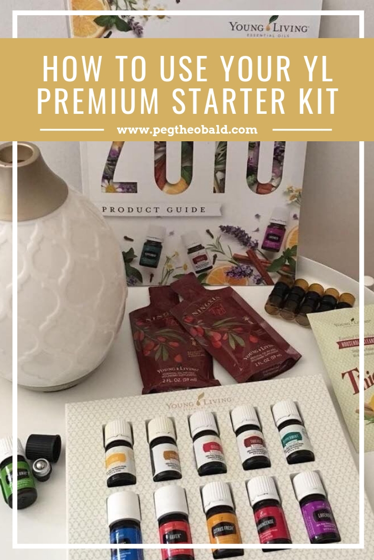 HOW TO START USING YOUR YOUNG LIVING PREMIUM STARTER KIT